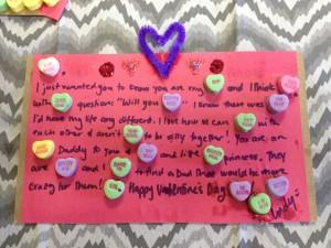 Conversation Heart Letter