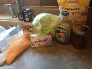 Taco Plate Ingredients