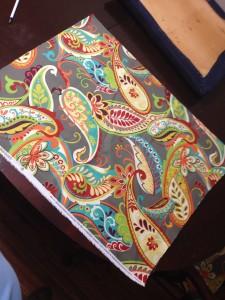 6 Covington Whimsy Paisley Mardi Gras Fabric
