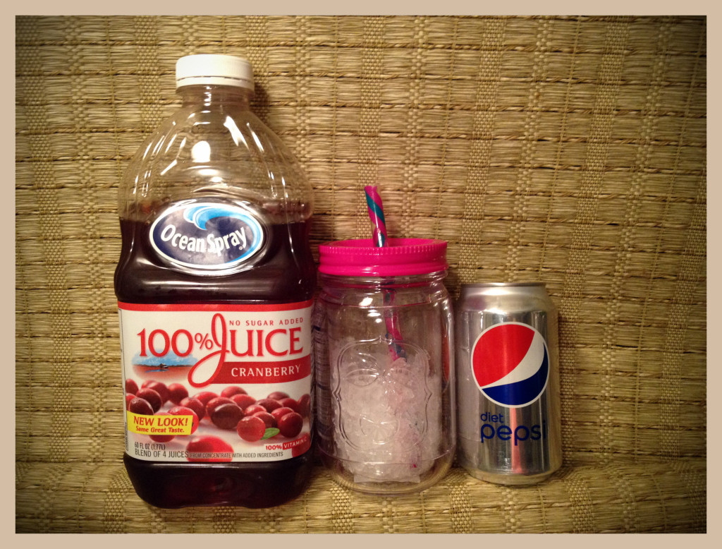 cranberry and pepsi drink