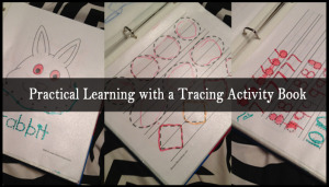 tracing activity book
