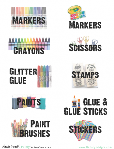 organize craft supplies free labels lindseybridges.com