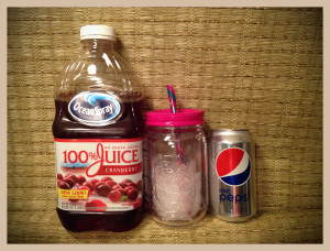 cranberry juice and coke